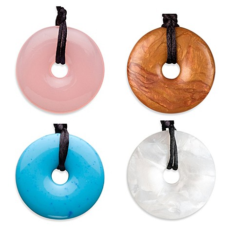 Teething bling doughnut shaped teething pendant by smart mom teething bling doughnut shaped teething pendant by smart mom jewelry mozeypictures Gallery