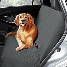 image of Pawslife™ Bench Style Quilted Car Seat Cover