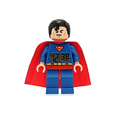 image of LEGO® DC Universe™ Superman Minifigure Clock