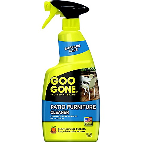 Patio Furniture Cleaner - Goo Gone® 24 Oz. Patio Furniture Cleaner - Bed Bath & Beyond