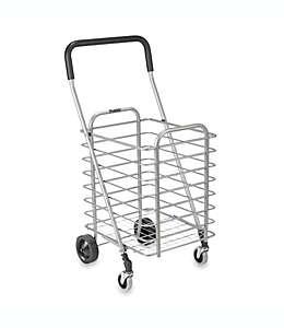 Carrito para compras de aluminio Polder® súper ligero