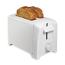 image of Proctor Silex® 2-Slice Extra Wide Slot Toaster in White