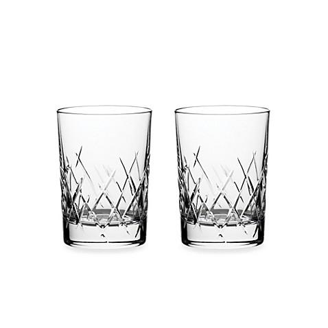 Vera wang wedgwood duchesse encore 10 ounce double old fashioned glasses set of 2 bed bath - Vera wang martini glasses ...