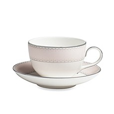 image of Monique Lhuillier Waterford® Dentelle 5.5-Inch Saucer
