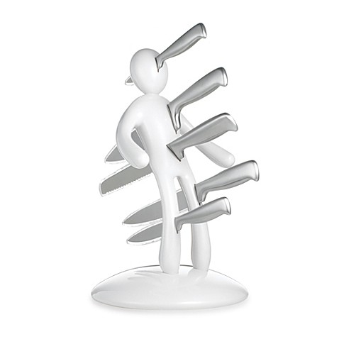 Buy The Ex Second Edition Kitchen Knife Set In White From