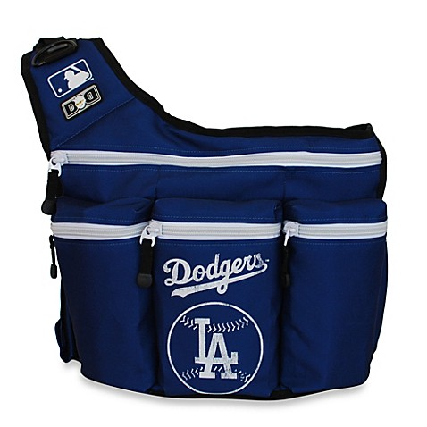 buy diaper dude mlb la dodgers messenger diaper bag from bed bath beyond. Black Bedroom Furniture Sets. Home Design Ideas