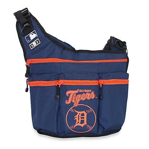 diaper dude mlb tigers messenger diaper bag bed bath beyond. Black Bedroom Furniture Sets. Home Design Ideas