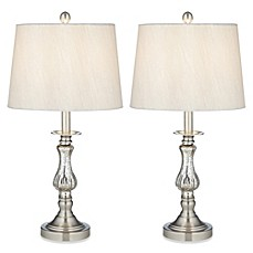 Image Of Pacific Coast® Lighting Ammolite Flute Table Lamp (Set Of 2)