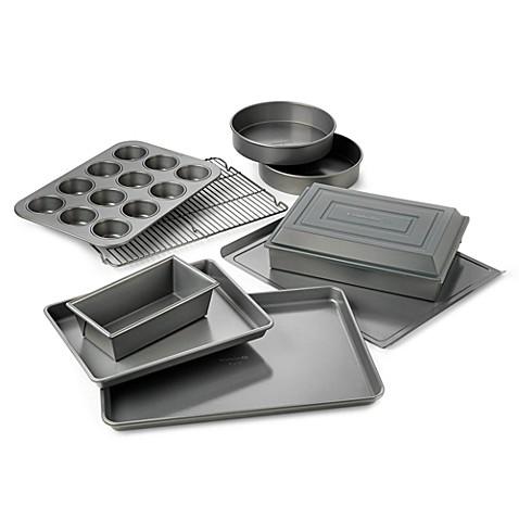 Calphalon 174 Nonstick 10 Piece Bakeware Set Bed Bath Amp Beyond