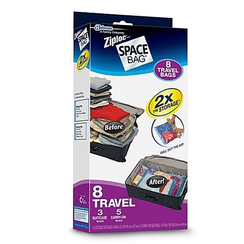 Ziploc 174 Space Bag 174 8 Piece Travel Bag Set