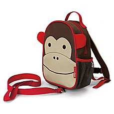 image of SKIP*HOP® Zoo Monkey Safety Harness / Mini Backpack with Rein