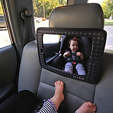 image of JJ Cole® 2-in-1 Car Mirror and Tablet Holder