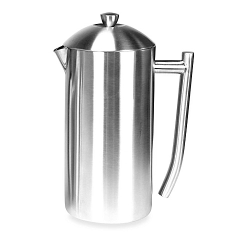 frieling 23 oz insulated stainless steel french press in brushed finish bed bath beyond. Black Bedroom Furniture Sets. Home Design Ideas