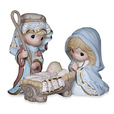 image of Precious Moments® Come Let Us Adore Him 3-Piece Figurine Set