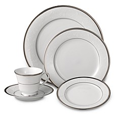Noritake® Regina Platinum Dinnerware Collection  sc 1 st  Bed Bath u0026 Beyond & Fine China | China Dinnerware Sets | Bed Bath u0026 Beyond