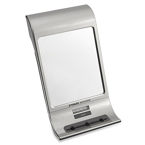 Z Fogless™ Shower Mirror in Stainless Steel Bed Bath