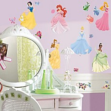 image of RoomMates Peel and Stick Wall Decals in Disney® Princess