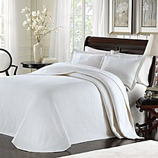 image of Lamont Home™ Majestic White Bedspread