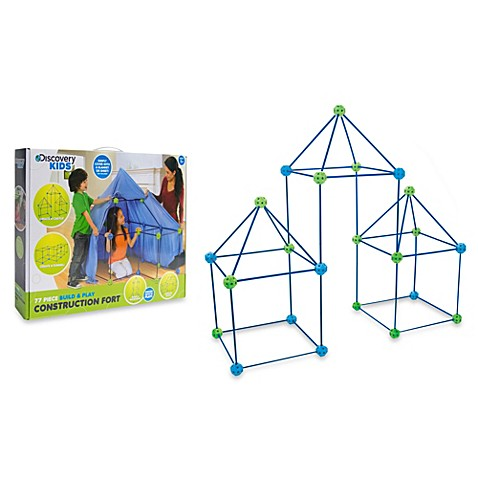 Discovery Kidsu0026trade; 77-Piece Build and Play Construction ...  sc 1 st  Bed Bath u0026 Beyond & Discovery Kids™ 77-Piece Build and Play Construction Fort Set ...