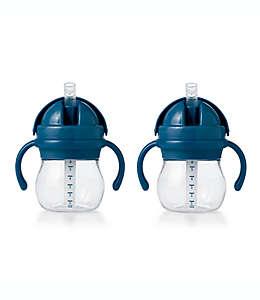 Vasos entrenadores de plástico OXO Tot® color azul marino