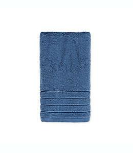 Toalla para manos de algodón Brookstone® SuperStretch™ color azul