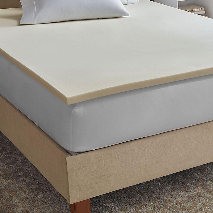 Therapedic® Sleepsmart 1.5 Inch Memory Foam Mattress Topper   Bed
