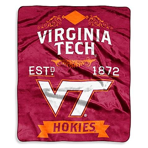 Virginia Tech Raschel Throw Bed Bath Amp Beyond