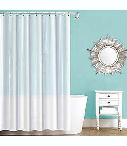 Forro para cortina de baño de PEVA  color gris escarchado