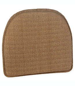Cojín de algodón para silla Klear Vu Essentials Bahama Gripper® color café trigo