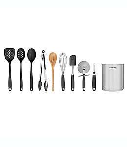 Set de utensilios de cocina Cuisinart® con contenedor, 11 piezas
