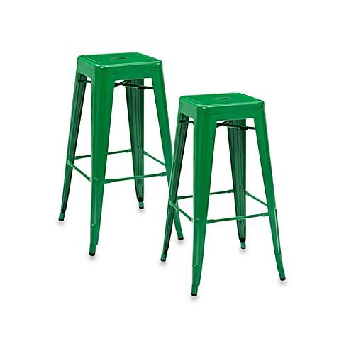 Buy Crosley Amelia Caf 233 30 Inch Backless Barstools In