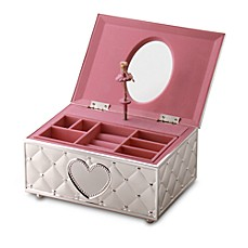 image of Lenox® Childhood Memories Musical Ballerina Jewelry Box