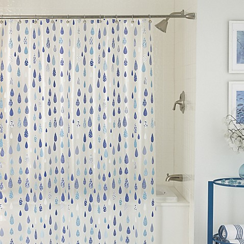 April Showers 70 Inch X 72 Shower Curtain