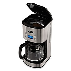 image of Oster® 12-Cup Stainless Steel Programmable Coffee Maker