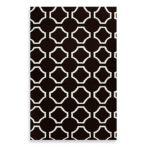 Bed Bath And Beyond Black And White Woven Rug