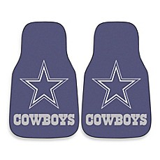 Dallas Cowboys Carpeted Car Mats (Set Of 2)
