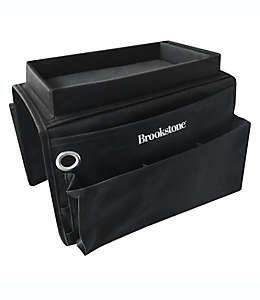 Organizador de poliéster Brookstone para reposabrazos color negro