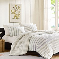 image of INK+IVY Sutton Duvet Cover Set