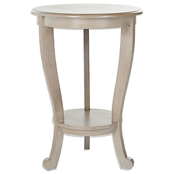 Image Of Safavieh Mary Pedestal Side Table