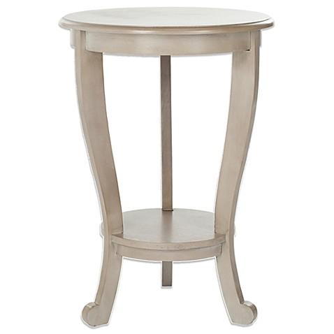 Safavieh Mary Pedestal Side Table Bed Bath Amp Beyond