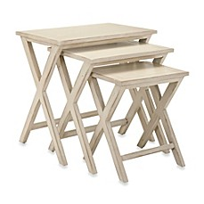 image of Safavieh Maryann Stacking Tray Tables