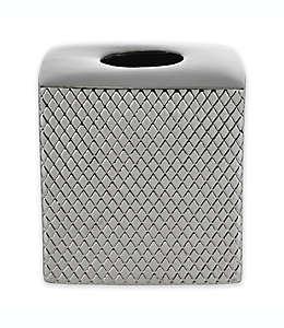 Dispensador de pañuelos desechables Diamond Shimmer en plata