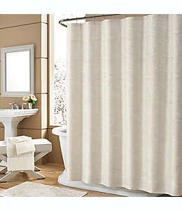 Cortina de baño de poliéster Holland J. Queen New York™ de 1.82 x 1.82m color marfil