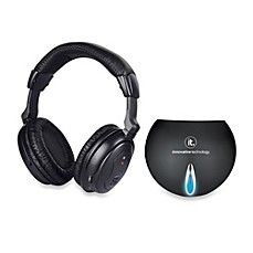 image of Innovative Technology™ Ithw-858 Wireless Headphones with Transmitter