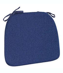 Cojín para silla de poliéster Mayfair® color azul marino