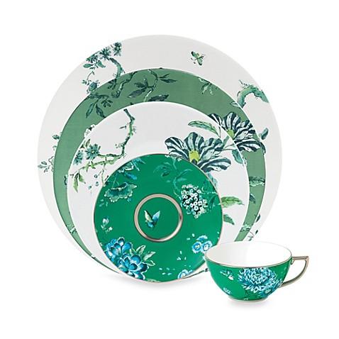 Wedgwood\u0026reg; Jasper Conran Chinoiserie Dinnerware in Green  sc 1 st  Bed Bath \u0026 Beyond & Wedgwood® Jasper Conran Chinoiserie Dinnerware in Green - Bed Bath ...