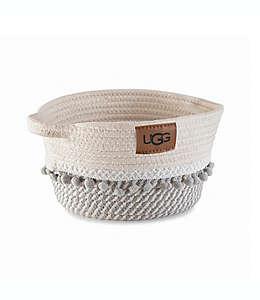 Contenedor grande Paloma Palm UGG® en blanco nieve/gris