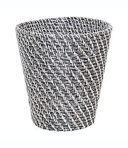 Bote de basura de resina Augusta color gris