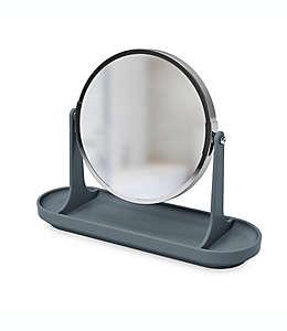 Espejo de tocador Umbra® en gris carbón