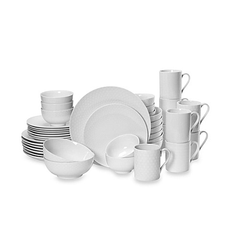 Mikasau0026reg; Cheers White 40-Piece Dinnerware Set  sc 1 st  Bed Bath u0026 Beyond & Mikasa® Cheers White 40-Piece Dinnerware Set - Bed Bath u0026 Beyond